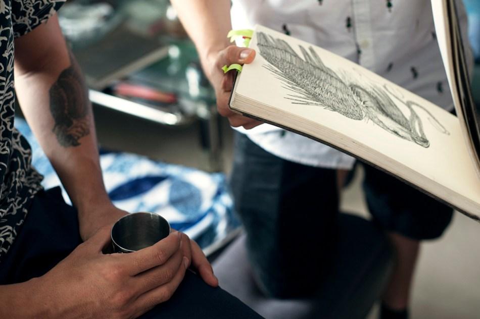 Florian Stuart Sketchbook