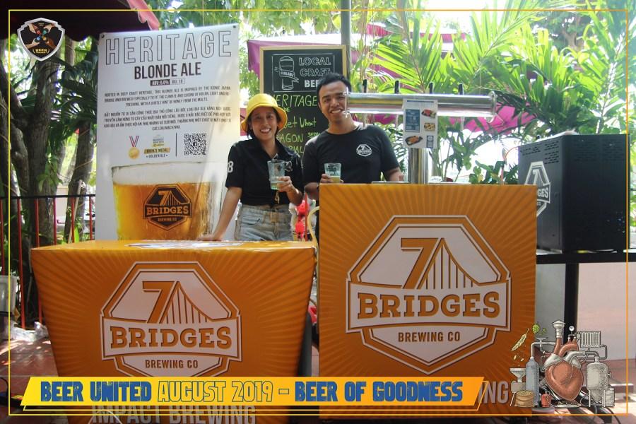 Drinking For Good. Beer United Festival 2019
