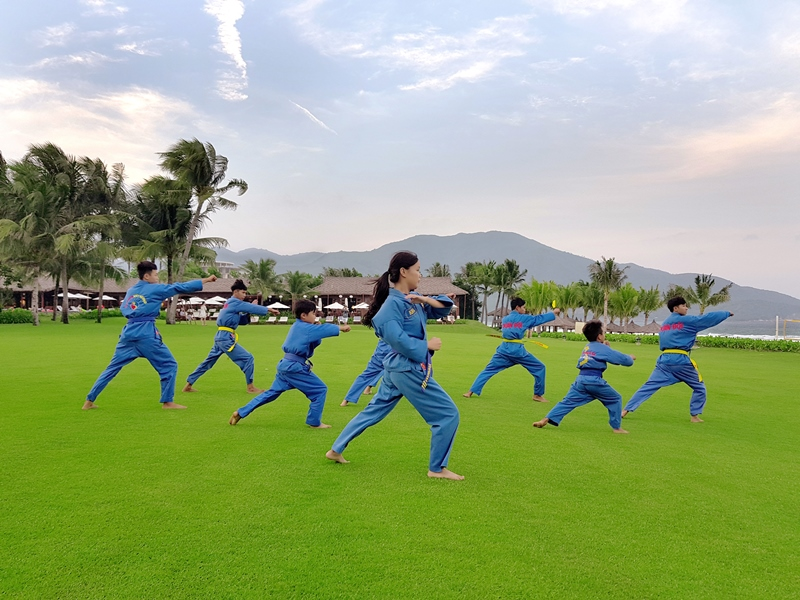 Kick, Sweep, Throw & Wrestle Your Way Through A Stay At The Anam