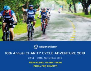Join The 10th Annual Charity Cycle Adventure 2019