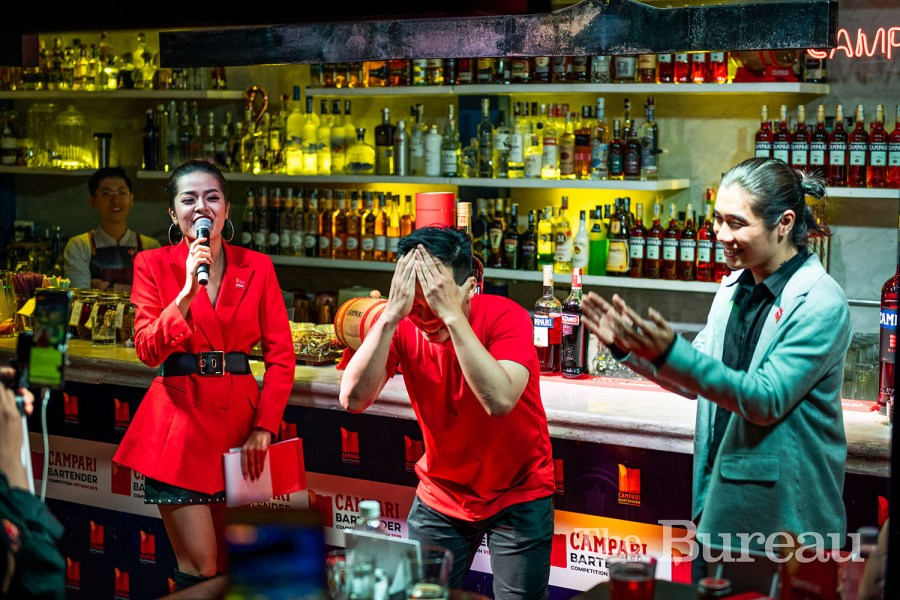 Irusu Bartender Crowned Winner Of Campari Bartender Competition Vietnam 2019