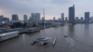 The IDEC Sport Drops Anchor In Ho Chi Minh City As Part Of The Asian Tour Of Sailing
