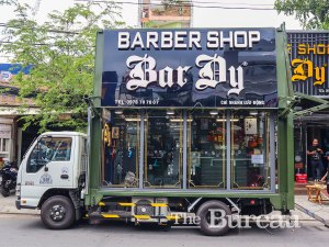 Vietnam's First Mobile Barbershop Launches To Support The Poor & Disadvantaged