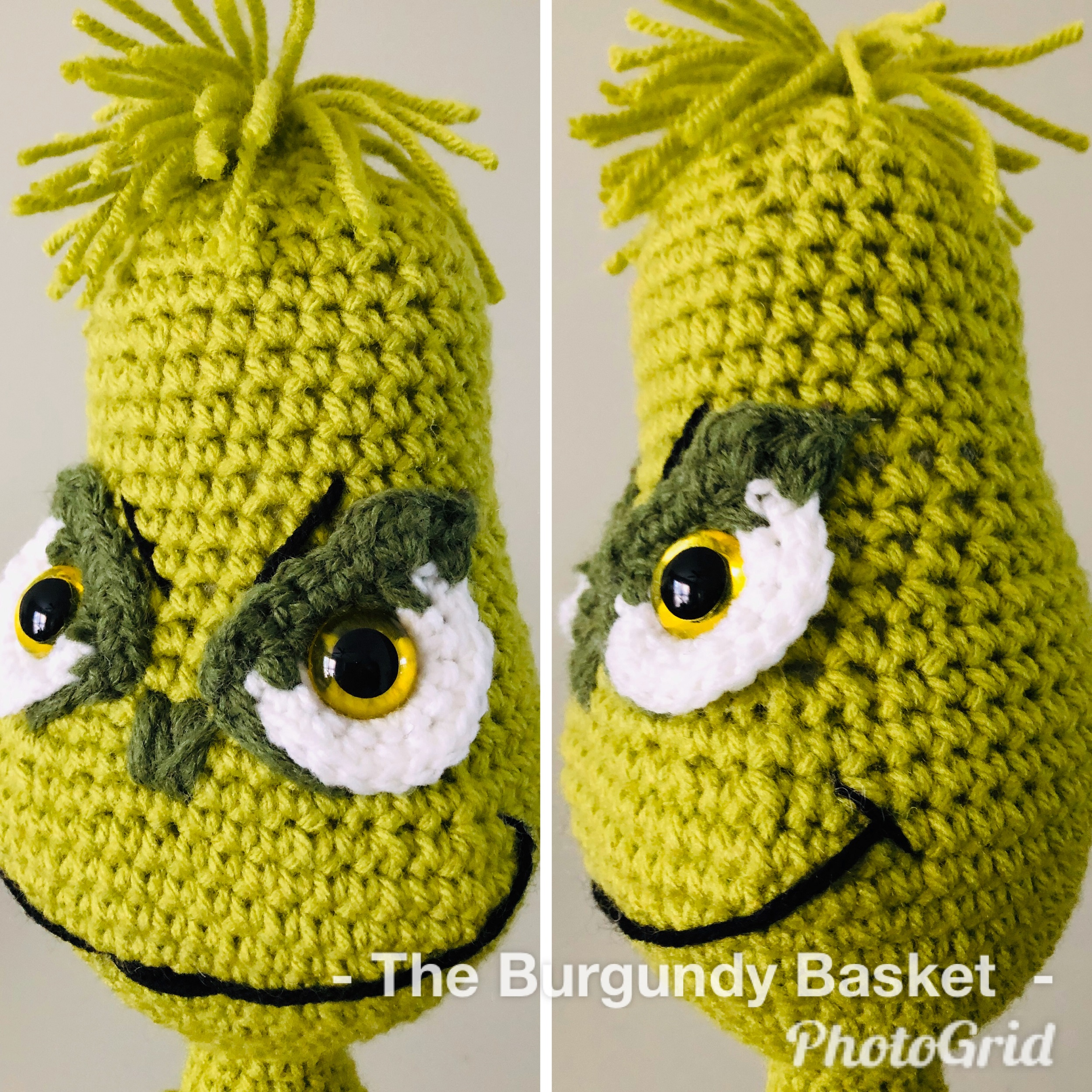The Grinch Amigurumi – Minasscraft Patrones Amigurumis | Christmas ... | 2500x2500