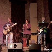 Mike Heywood, Joanna Lloyd and Steve Marosso at Two Brothers Roundhouse - Aurora, IL - 4/3/18