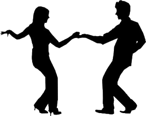 Image result for salsa dancing silhouette