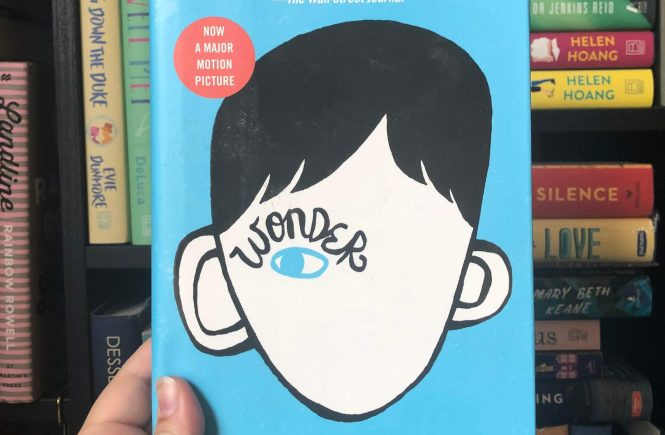 A photo of Wonder by RJ Palacio