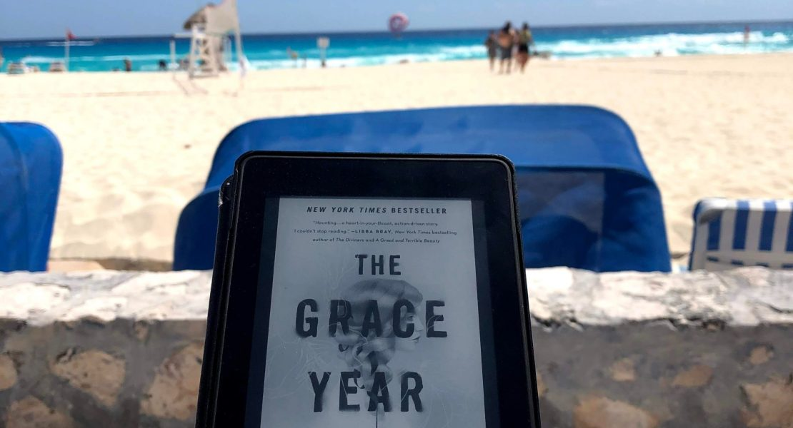 Photo of a Kindle with The Grace Year by Kim Liggett