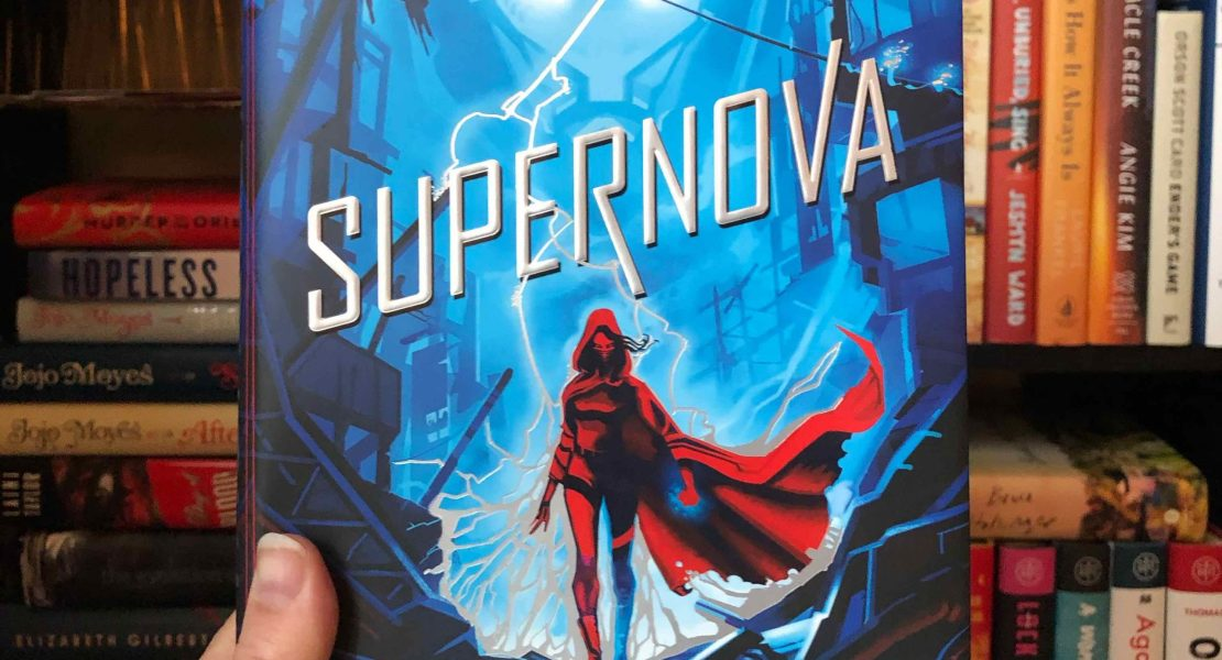 Book cover of Supernova by Marissa Meyer