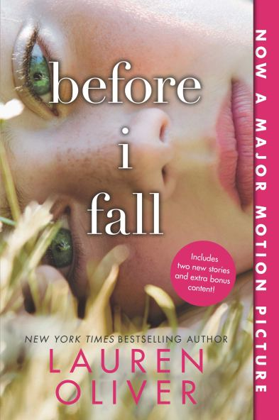 book cover of before i fall by lauren oliver