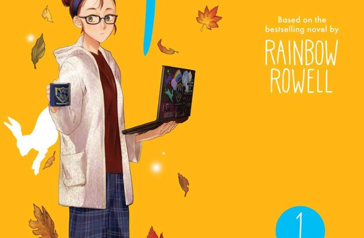 fangirl the manga by rainbow rowell and sam maggs book cover