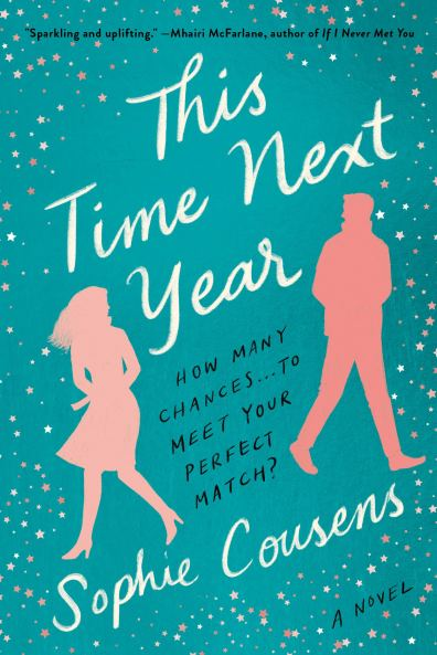 This time next year by sophie cousens book cover