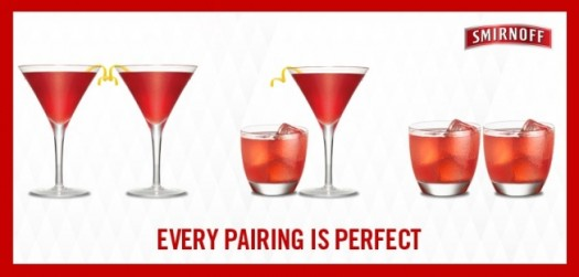 Smirnoff vodka recently launched a series of ads in support of gay marriage. (Google Images)