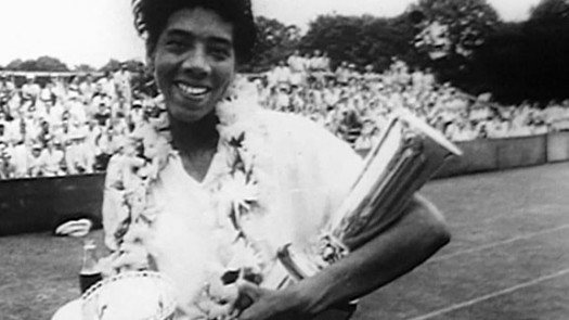 Tennis legend Althea Gibson won ATA Women's singles titles from 1947-1956. She is also the first African-American woman to win Wimbledon. (Google Images)