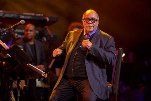 Legendary music producer Quincy Jones believes that music heals all wounds. (Photo Credit: American Cancer Society)