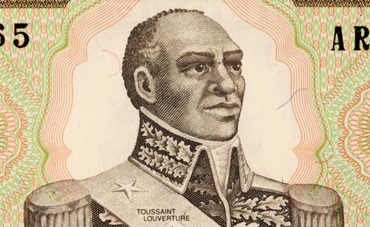 Francois-Dominique Francois-Dominique Toussaint L'Ouverture was a  Haitian patriot and revolutionary leader. (Google Images)