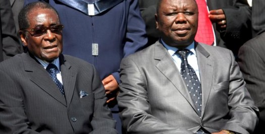 Zimbabwean President Robert Mugabe (l) has set a date for general elections but Prime Minister Morgan Tsvangirai disagrees with the date. (Google Images)