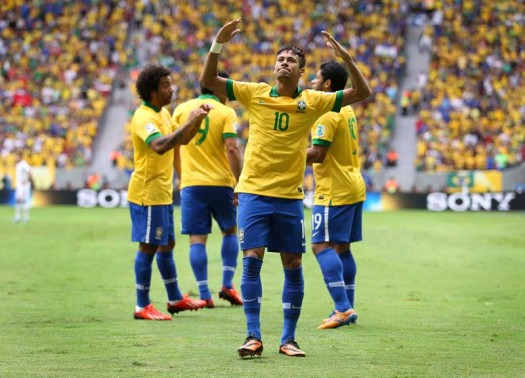Brazil defeated Spain in the 2013 Confederations Cup, 3 to 1. (Google Images)