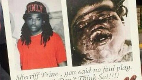 "The body of Kendrick Johnson, who died in January and whose death was ruled ""accidental"" has been exhumed for a second autopsy to be conducted by a forensic pathologist. (Google Images)"