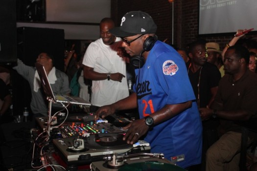 DJ Jazzy Jeff curated 'Jukebox: A Retro Active Dance Party' in Atlanta.  (Photo Credit: DJ Blak Magic)