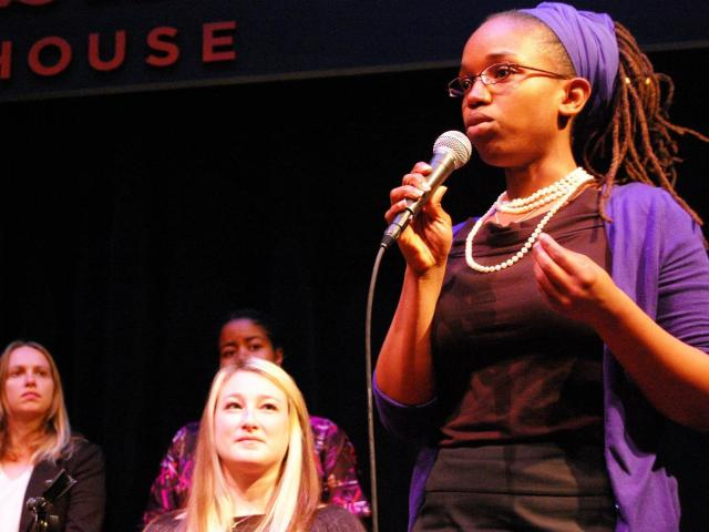 Pitch Mixer founder Ayori Selassie talks blacks in tech at HBCU summit at Stanford.  Photo Credit: Google Images