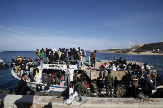 Hundreds of African immigrants are being deported from Libya.  (Photo Credit: darrinzammitlupi.wordpress.com)