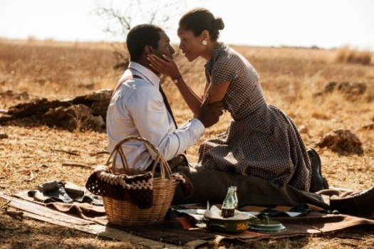 British actors Idris Elba and Naomie Harris portray Nelson and Winnie Mandela in Mandela: Long Walk to Freedom.  (Photo Credit: Google Images)