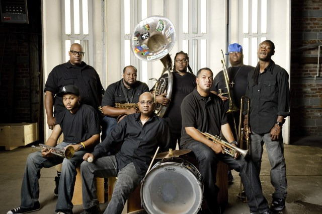 The Soul Rebels recently released a new LP Power=Power.  (Photo Credit: Rick Olivier)