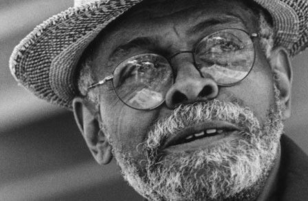 Poet, activist and educator Amiri Baraka dies at age 79.  (Photo Credit: Poetry Foundation)