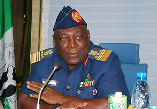 Nigerian Air Marshal Alex Badeh claims to know the whereabouts of the missing schoolgirls.  (Photo Credit: Naji.com)