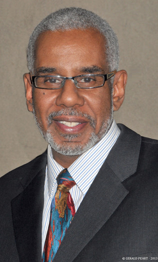 Harlem Fine Arts Show Founder and Curator Dion Clarke.  (Photo Credit: Gerald Peart)