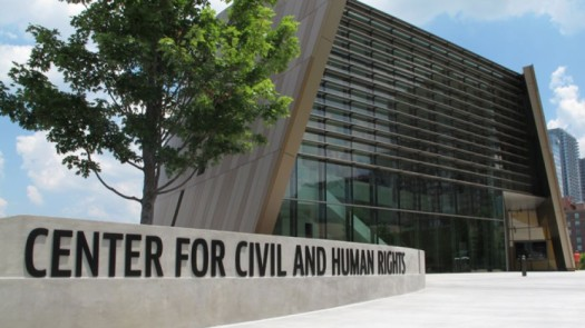 The Center for Civil and Human Rights in Atlanta, GA.