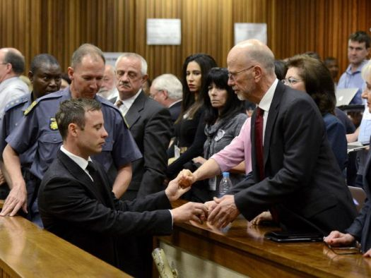 Paralympian Oscar Pistorius sentenced to five years in jail. (Photo Credit: Google Images)
