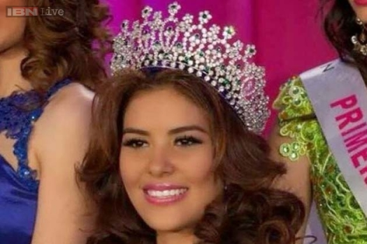 2014 Miss Honduras winner Maria Jose Alvarado was found dead along with her sister. (Google Images)