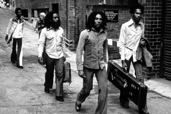 The Wailing Wailers in London to record 'Catch a Fire.'  (Google Images)