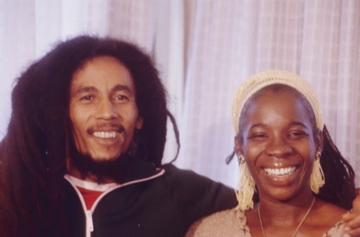 Bob and Rita Marley.  (Google Images)
