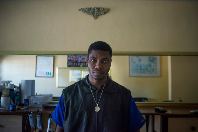 Kenson Timothee was profiled in a NYT article about the Bahamian government's immigration laws that negatively impact Haitians.  (Photo: NYT)