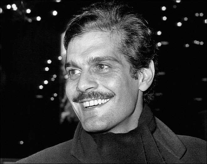 Legendary actor Omar Sharif dies at 83.