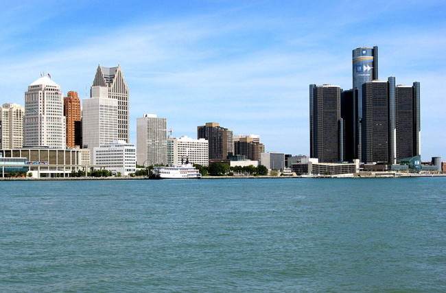 The Detroit skyline. (Photo: Google Images)