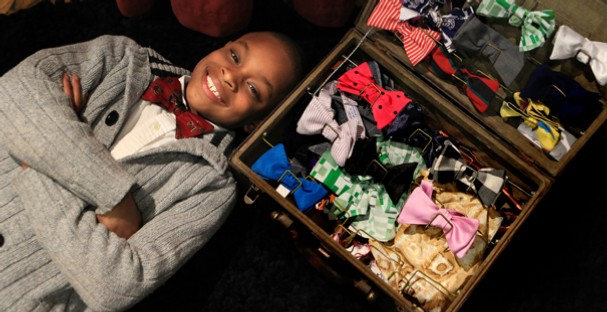Moziah Bridges, 13, is owner of MO's Bows.   (Photo: Google Images)