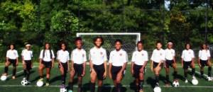 2015 Southside Heat girls soccer team