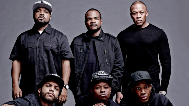 The filmmakers and cast of 'Straight Outta Compton.' (Photo: Google Images)