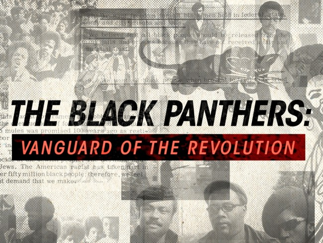 Stanley Nelson's critically-acclaimed documentary The Black Panthers: Vanguard of the Revolution