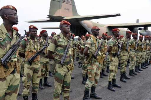 Members of the Ghanaian Army are pictured. (Photo: Google Images)