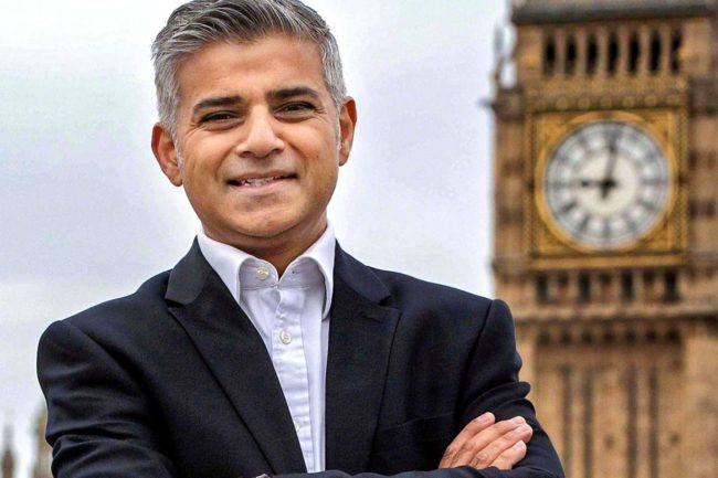 Sadiq Khan is London's first Muslim mayor. (Photo: Google Images)