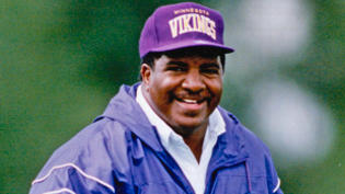 Dennis Green was named the Minnesota Vikings head coach in July 1992. Green died Friday morning at age 67. (Jerry Holt/Minneapolis Star Tribune/TNS)
