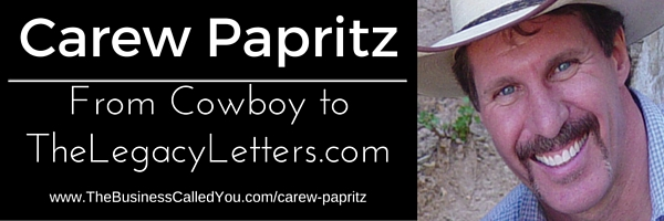 Carew Papritz and TheLegacyLetters.com