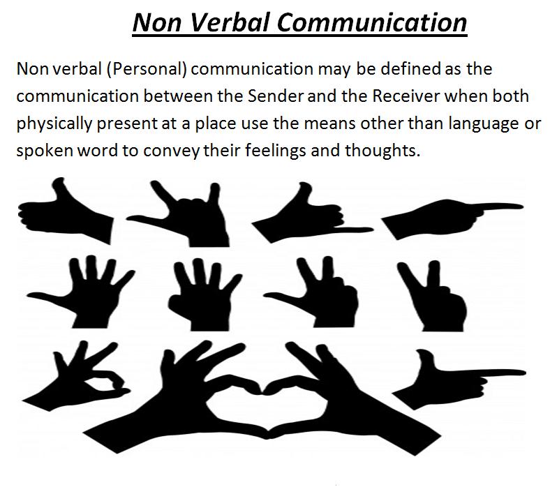 Using Non-Verbal Communication