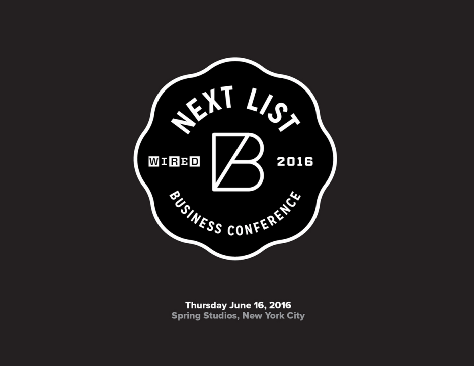 Events: WIRED Business Conference 2016