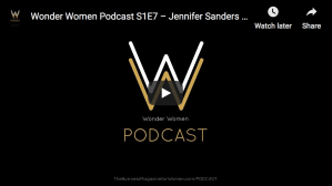 Wonder Women Podcast S1E7 – Jennifer Sanders Of CNSEquityPartners.com
